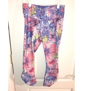 High waisted work out leggings